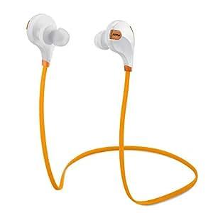 Mpow Swift Bluetooth 4.0 Wireless Earbuds (Orange)