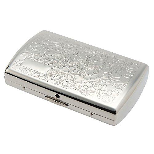 츠보타 펄(TSUBOTA PEARL) iQOS(아이코스) heat 스틱 전용 카트리지 담배 케이스 20개 수납 니켈 아라베스크 7-71418-81