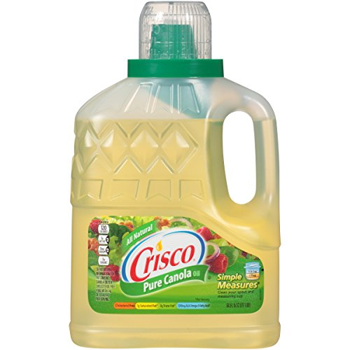 Crisco Pure Canola Oil, 64 fl oz., 6 per case by Crisco