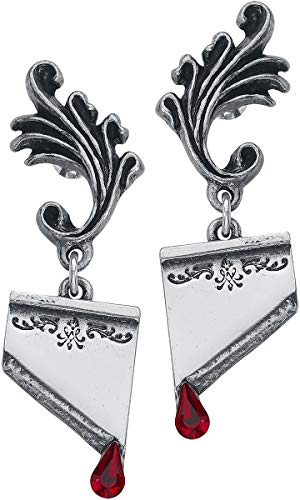 Marie Antoinette (pair) Earring by Alchemy Gothic, England (Alchemy Gothic)