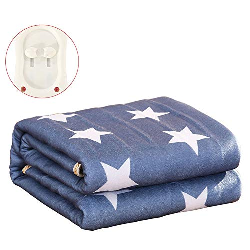 DGSD Heated Mattress Electric Blanket 220V Thermostatic Safety Bed Warmer Carpets,1.2M1.5M