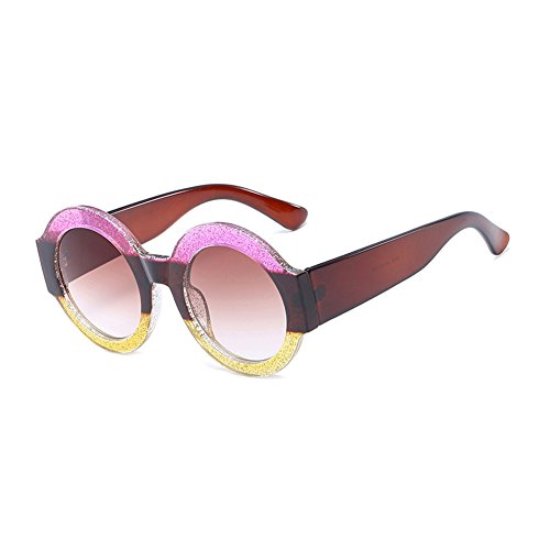 sol plástico mujer sol TL de Moda CJ9006 Color Gafas UV400 grande CJ9006 de circular gafas de de gafas C3 Sunglasses marco sol de hombre de C1 7wY7qR