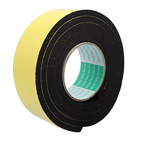 uxcell 50mm Width 8mm Thickness Single Sided Shockproof Sponge Foam Tape 3 Meter Long by uxcell