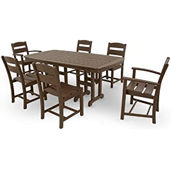 Amazon.com: polywood pws121 – 1-ma Chippendale 7-Piece Set ...