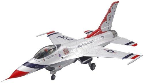 F-16C Block 32/52 Thunderbirds USAF Air Demonstration Squadron Aircraft 1/48 Tamiya ()