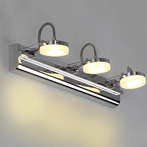 QZz Home® Edelstahl-Spiegellampe Badezimmer Wandleuchte (Farbe ...