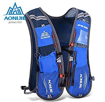 00e1e5290e Orange : Aonijie Men Women Lightweight Running Backpack Outdoor Sports  Trail Racing Marathon Hiking Fitness Bag Hydration Vest Pack 5L: Amazon.in:  Beauty