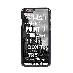 SHOUJIKE The Point of Life Design Aluminum Hard Case for iPhone 6