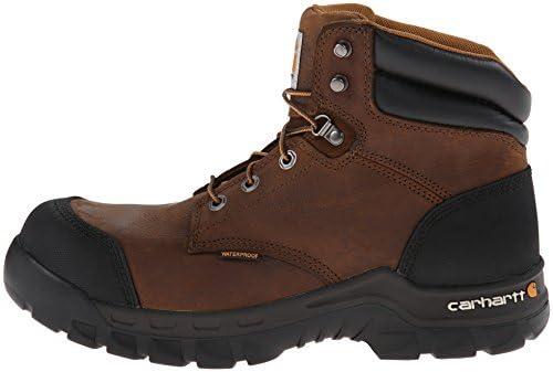 Carhartt Men's CMF6380 Rugged Flex Six Inch Waterproof Work Boot