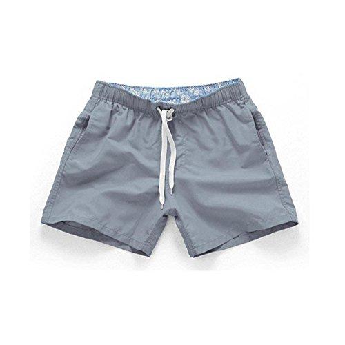 WNDSYN Man's Brand Swimming Briefs Ultra-Thin Swim Shorts Quick Dry Beach Trunks Mens Swimwear Summer Men's Beach Pants Clear XL