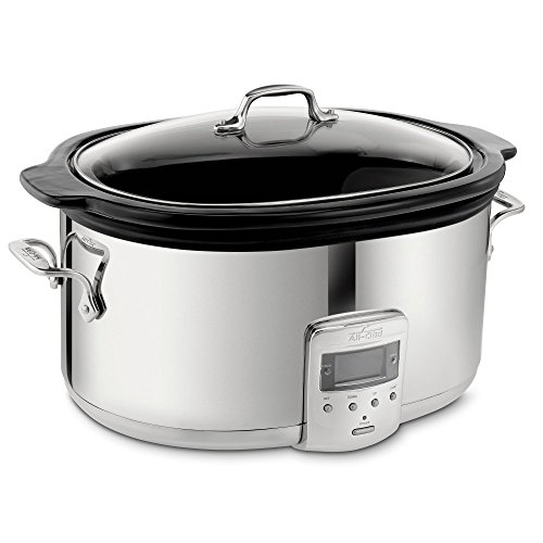 All-Clad SD710851 Slow Cooker with Black Ceramic Insert