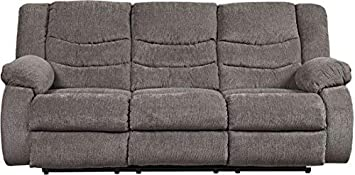 Signature Design by Ashley 9860688 The The Tulen Reclining Sofa, Gray