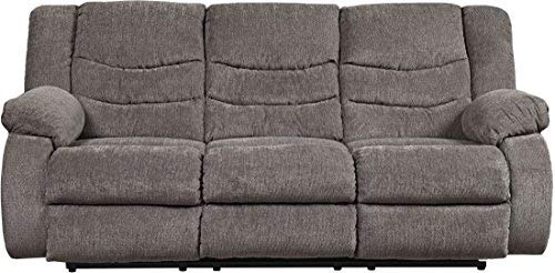 (Signature Design by Ashley 9860688 The The Tulen Reclining Sofa, Gray)