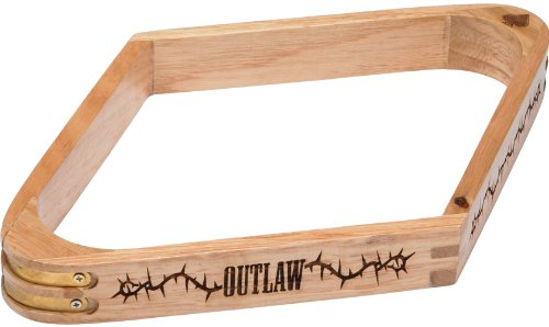 Wooden 9 Ball Diamond (Outlaw Wood 9-Ball Diamond Rack)