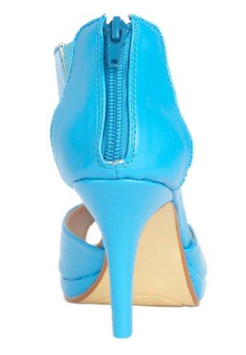 Jessica London Tisha Back-zip Sandal ® Svart, 11 M