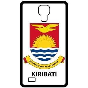 Kiribati - Country Coat Of Arms Flag Emblem Black Iphone 5/5S Cell Phone