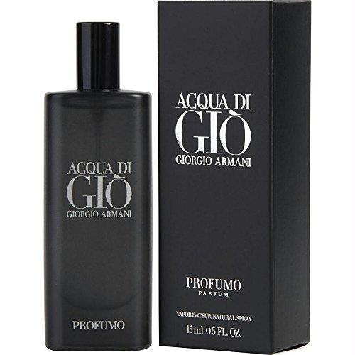 Giorgio Armani Acqua Di Gio Profumo Parfum Spray for Men, 0.5 Ounce ()