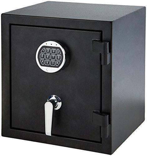 AmazonBasics Fire Resistant Box Safe, .83 Cubic Feet