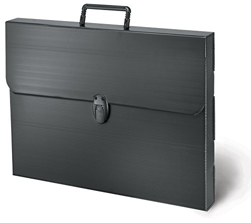 Artcare 16990090 69 x 5 x 48 cm A2 Synthetic Material Polylite Case, Black Mapac
