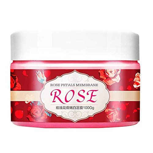 - WONdere Rose Nail Paraffin Wax Nail Care Nail Treatment, Hand Wax White Moisturizing Tender Exfoliating Whitening Replenishment Hand Mask Women, 100g