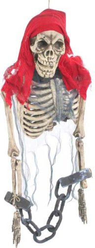 BOS Scary Hanging Dead Pirate Halloween Prop -