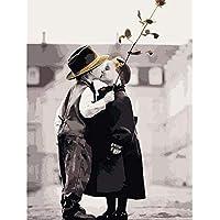 YKCKSD Puzzle 1000 Pezzi No Kiss Ba Kit Fai da Te Figura Figura Moderna Immagine di Arte della Parete per La Decorazione Domestica