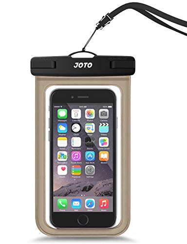 JOTO Universal Waterproof Pouch Cellphone Dry Bag Case for iPhone Xs Max XR XS X 8 7 6S Plus, Galaxy S10 S9/S9 +/S8/S8 +/Note 8 6 5 4, Pixel 3 XL Pixel 3a 2 up to 6.0