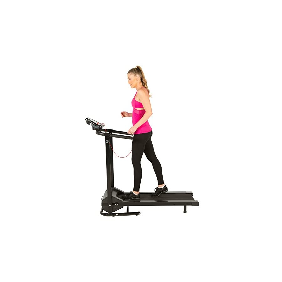 FITNESS REALITY 2045 TRE2500 Folding Electric Treadmill with Goal Setting Computer