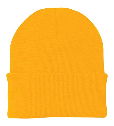 (Port & Company - Knit Cap. CP90 - Athletic Gold)