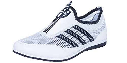Women 's lightweight running shoes wear sports shoes casual ultra - light with(White) - 8
