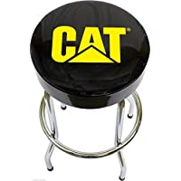 CAT Garage Stool Cat Caterpillar Semi Truck Motor Tractor Bar Stool Chair Shop Bench Garage Tract
