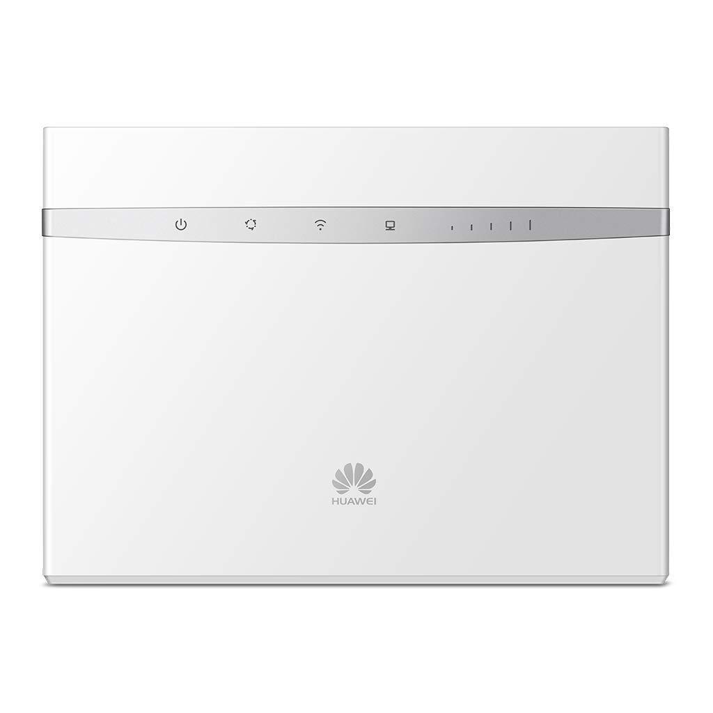 300Mbps de conexi/ón inal/ámbrica, Wi-Fi Hotspot m/óvil con 3 Antenas, Banda Dual 2.4G/&5G, tecnolog/ía MIMO, Tarjeta SIM//USB 2.0, hasta 64 usuarios Negro Router Wi-Fi 4G LTE Huawei B525