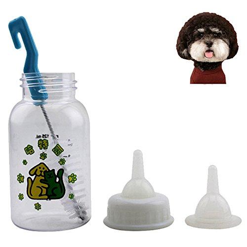Pet botellas, lactancia Juego de biberón para gatitos, cachorros y animales pequeños: Amazon.es: Productos para mascotas