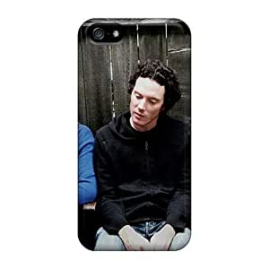 Scratch Protection Hard Phone Cases For Iphone 5/5s With Custom Lifelike Rise Against Series KevinCormack