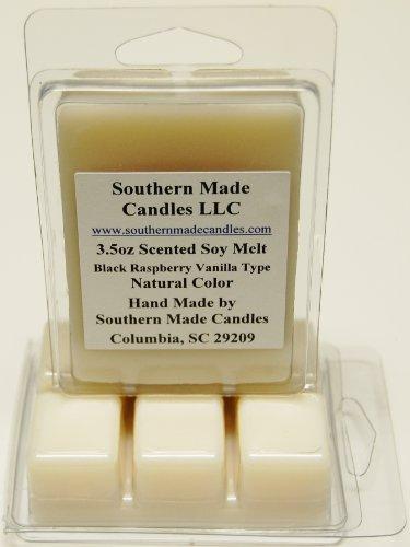 3.5 oz Scented Soy Wax Candle Melts Tarts - Black Raspberry Vanilla Type ()