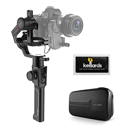 Moza Air 2 3-Axis Handheld Gimbal Stabilizer with Anti-Static Screen Cleaning Wipes (5-Pack)