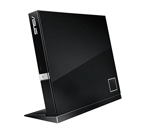 Asus Slim USB 2.0 BDXL CD 6x RW External External Blu-ray Burners - Black
