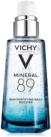 Vichy Mineral 89 Hydrating Hyaluronic Acid Serum and Daily Skin Booster, For Stronger, Healthier Looking Skin