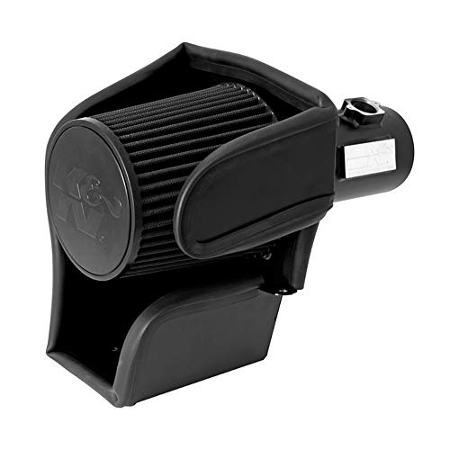 K&N Performance Air Intake Kit 71-2581 with Lifetime Black Dry Filter for 2011-2014 Ford F150 5.0L V8