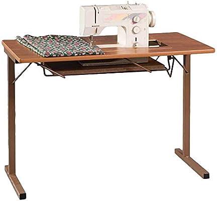 Armarios de costura de moda, 299, plegables, mesa de máquina de coser, arce rústico: Amazon.es: Juguetes y juegos