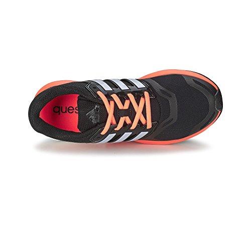 adidas Performance Damen Laufschuhe schwarz/orange