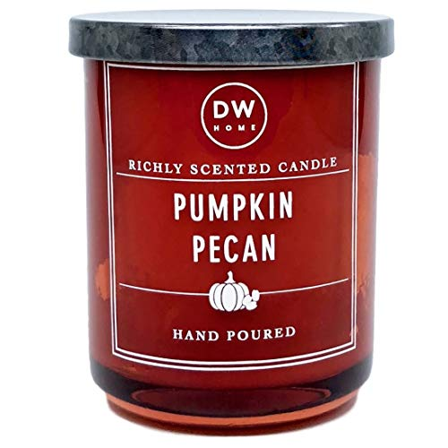 DW Home Small Pumpkin Pecan Scented Candle,Orange by DW Home