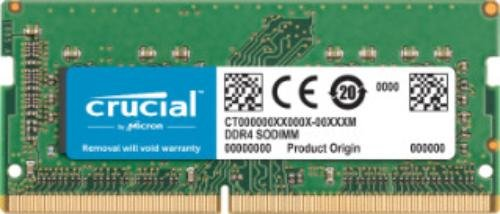 Crucial 8GB Single DDR4 2400 MT/s (PC4-19200) SR x8 SODIMM 260-Pin for Mac - CT8G4S24AM by Crucial