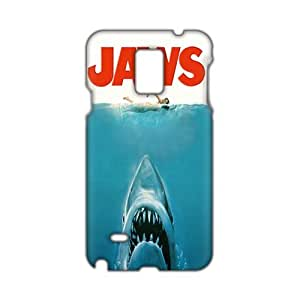 Evil-Store Jaws whale and swimming girl 3D Phone Case for Samsung Galaxy Note4