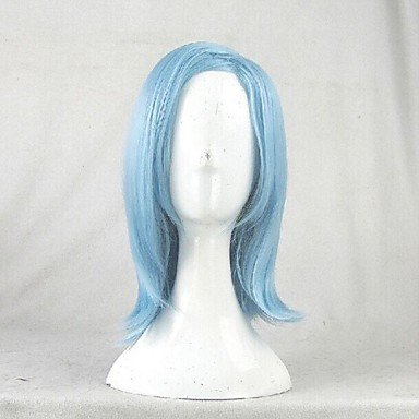 Akuma Costume Wig (QINF Akuma no Riddle Shuto Suzu Blue Cosplay Wig)