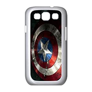 FOR Samsung Galaxy S3 -(DXJ PHONE CASE)-Super Hero Caption American-PATTERN 2