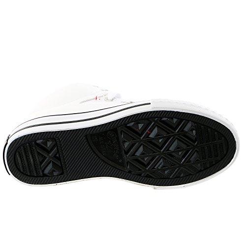 Converse , Mädchen Sneaker Bianco
