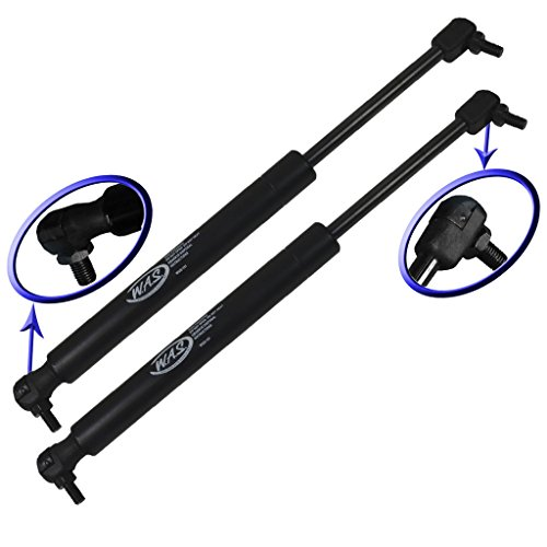 Two Rear Hatch Hatchback Trunk Gas Charged Lift Supports With Upgraded Mounting Studs for 2000-2005 Mitsubishi Eclipse With Spoiler. WGS-191-2