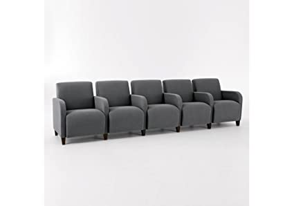 Amazon.com: Siena Five Seat Sofa with Center Arms Dimensions ...