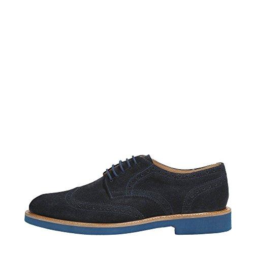 Frau Verona 35C4 129 Zapato de Vestir Hombre BLU 41
